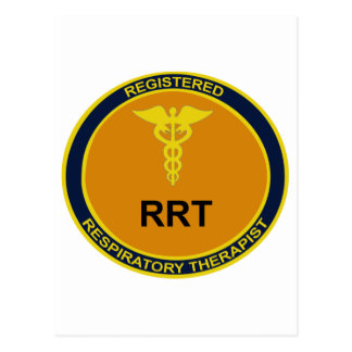 Emblema de RRT Cartão Postal