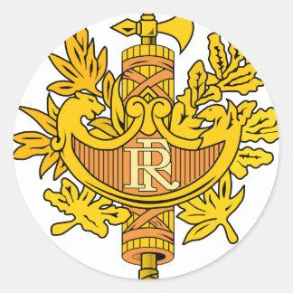 Emblema nacional de France Adesivo
