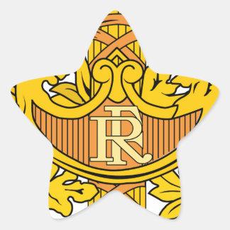 Emblema nacional de France Adesivos Estrelas