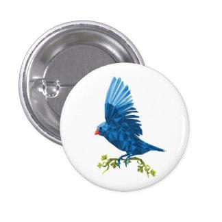 Emergência do botão do pássaro do primavera bóton redondo 2.54cm