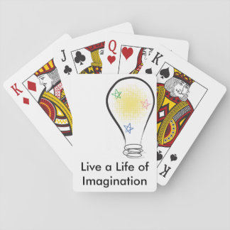 Emilyann vive uma vida da imaginação jogo de baralho