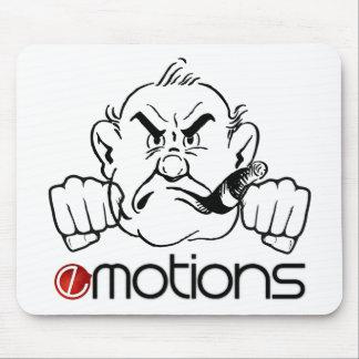 Emoções engraçadas mouse pad