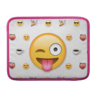 """Emoji """"13"""" luva do iMac das polegadas Bolsas De MacBook"""