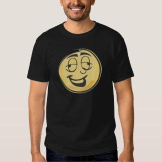 Emoji retro bêbedo t-shirt