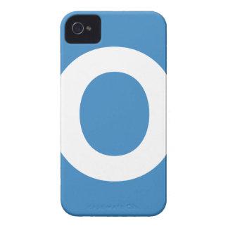 Emoji Twitter - Letter O Capa Para iPhone 4 Case-Mate