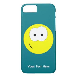 Emoticon amarelo do smiley face capa iPhone 8/7