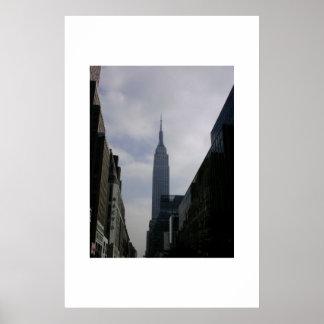 Empire State Building NYC Impressão