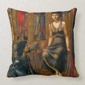 Empregada doméstica 1883 do rei e do mendigo almofada