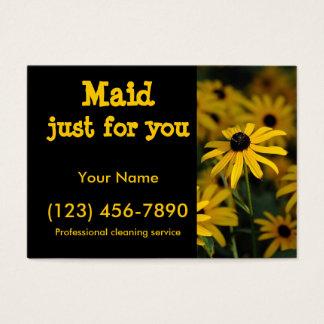 Empregada doméstica apenas para você cartão de visitas