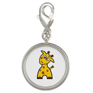 Encanto do girafa pingente