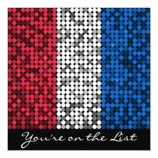 Encanto patriótico convite quadrado 13.35 x 13.35cm