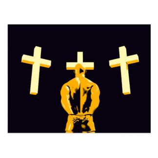 Encarcere a prisão e a cristandade da religião cartão postal