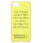 Endometriose:  Eu sou cobrir do iPhone Capa iphone5C