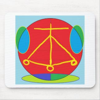 Energia de Karuna Reiki da LAREIRA Mouse Pad