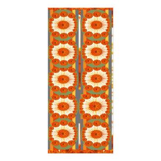 Energia pura: Teste padrão de flor de Exitic Garen 10.16 X 22.86cm Panfleto