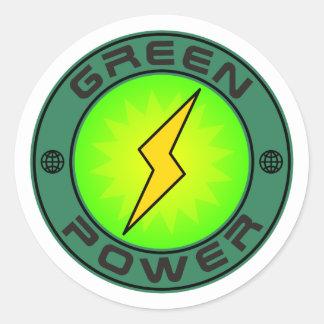 Energias verdes adesivo