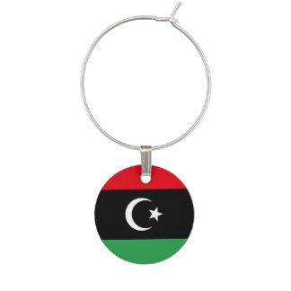 Enfeite De Taças De Vinho Bandeira de Líbia