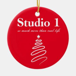 Enfeites de natal 2 do estúdio 1