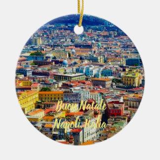 Enfeites de natal cénicos de Nápoles, Italia
