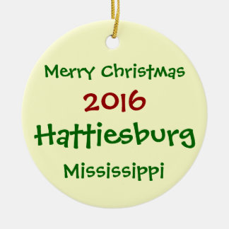 ENFEITES DE NATAL DE 2016 HATTIESBURG MISSISSIPPI