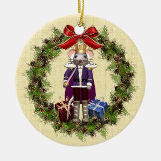 Enfeites de natal do rei Buon Natale Italiano do