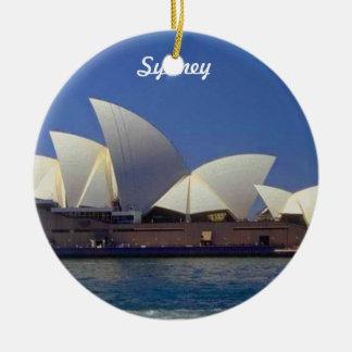 Enfeites de natal do viagem de Sydney Austrália
