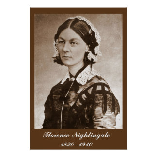 Enfermeira de Florence Nightingale Poster