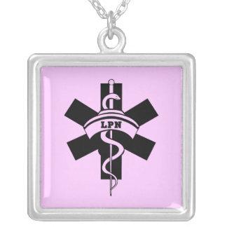 Enfermeiras de LPN Colar Personalizado