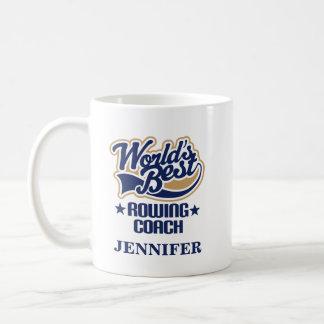 Enfileirando o presente personalizado treinador da caneca de café