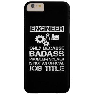 Engenheiro de Badass Capa Barely There Para iPhone 6 Plus