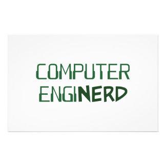 Engenheiro de computador Enginerd Papelaria