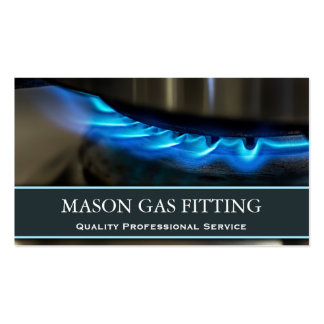 Engenheiro do gás/cartão de visita mais apto da cartão de visita