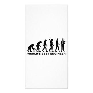 Engenheiro do mundo da evolução o melhor