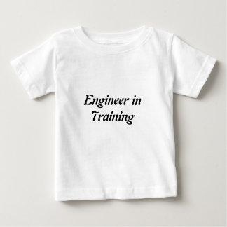 Engenheiro no Tshirt do Preschooler do treinamento