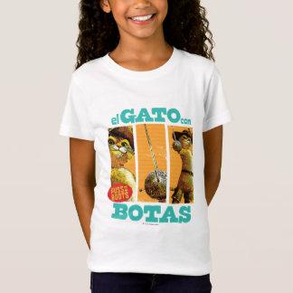Engodo Botas do EL Gato T-shirts