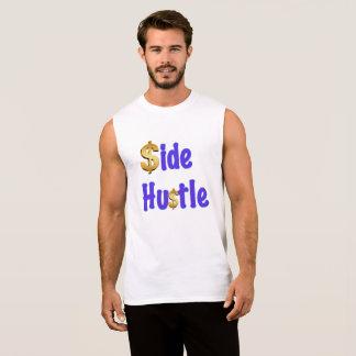 Engraçado - camisa sem mangas da convicção lateral