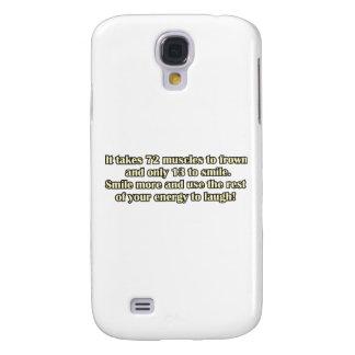 Engraçado Galaxy S4 Cases