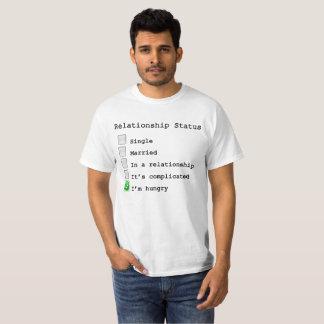 Engraçado - estado da relação t-shirt