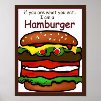Engraçado eu sou poster do Hamburger