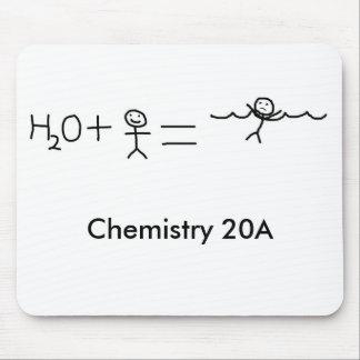 engraçado, química 20A Mousepad