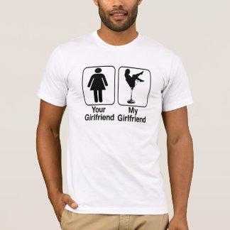engraçado seu namorada meu tshirt do namorada