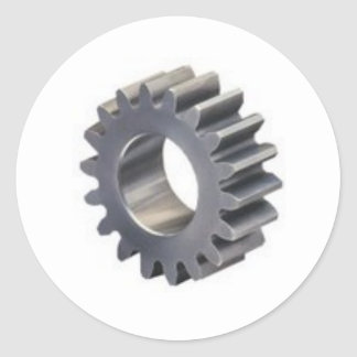 Engrenagem 3D Adesivo