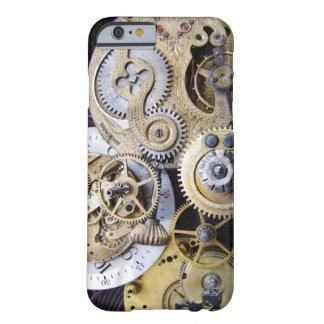 Engrenagens do relógio de bolso do vintage para o capa barely there para iPhone 6