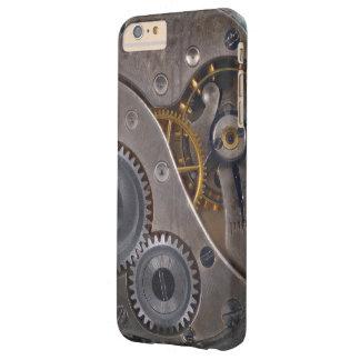 Engrenagens oxidadas do maquinismo de relojoaria capas iPhone 6 plus barely there