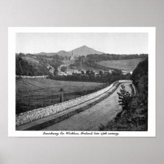 Enniskerry Co. Wicklow Ireland, século XIX Poster