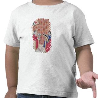 Ensino das partes diferentes do ser humano t-shirt