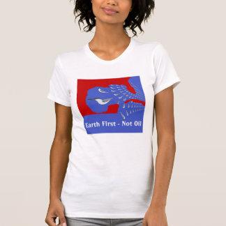 Enterre primeiramente não a camisa do óleo T Tshirt