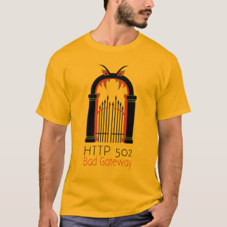 Entrada do mau do HTTP 502 Camiseta