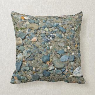 Entre uma rocha e um lugar duro almofada