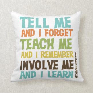 Envolva-me citações inspiradas travesseiros de decoração